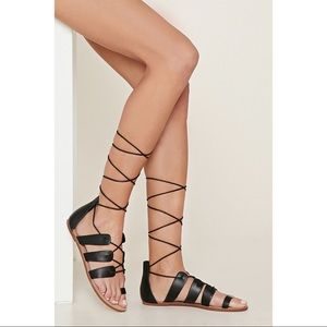 🌵3 for $30. Forever 21 Faux Leather sandal